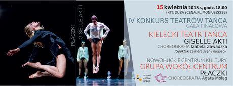 Kielecki Teatr Tańca Taniec 18 Festiwal Tańca Kielce 2018/ Gala IV Konkursu Teatrów Tańca