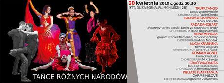 Kielecki Teatr Tańca Taniec 18 Festiwal Tańca Kielce 2018/ Tańce Różnych Narodów