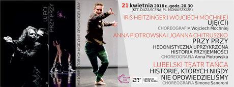 Kielecki Teatr Tańca Kultura 18 Festiwal Tańca Kielce 2018 / Historie, których nigdy nie opowiedzieliśmy