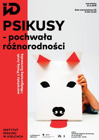 Institute of Design Kielce Sztuki plastyczne Psikusy - pochwała różnorodności / warsztaty dla dzieci