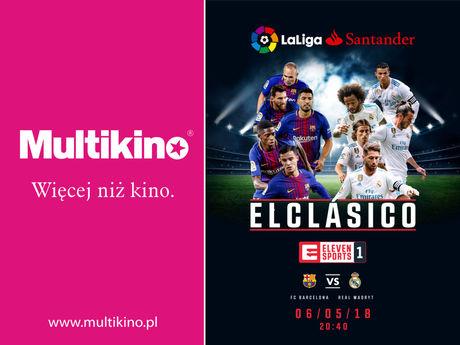 Multikino Sport i Rekreacja EL Clasico: FC Barcelona vs. Real Madryt