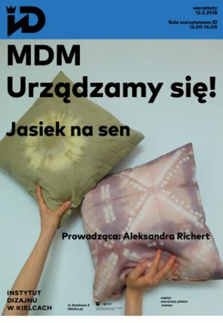 Institute of Design Kielce Kielce MDM Urządzamy się! - warsztaty dla par