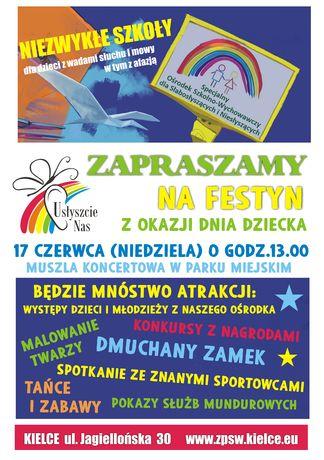 Park Miejski, Kielce Kielce Festyn z okazji Dnia Dziecka