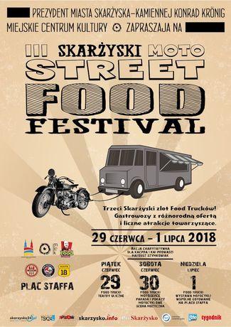Miejskie Centrum Kultury, Skarżysko-Kamienna Świętokrzyskie III Skarżyski Moto Street Food Fesival