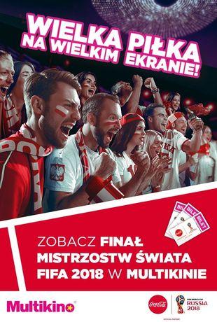 Multikino Sport i Rekreacja FIFA 2018 - FINAŁ