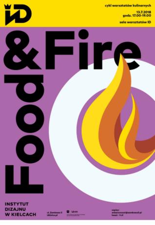 Institute of Design Kielce Kuchnia Food&Fire! / warsztaty dla dorosłych