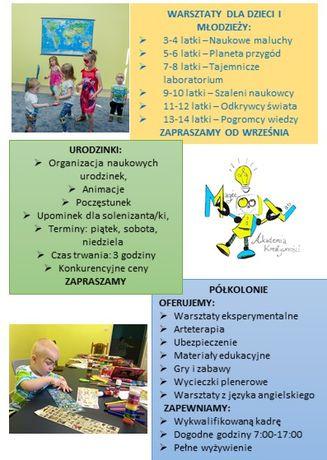Kielce Warsztaty dla dzieci i młodzieży