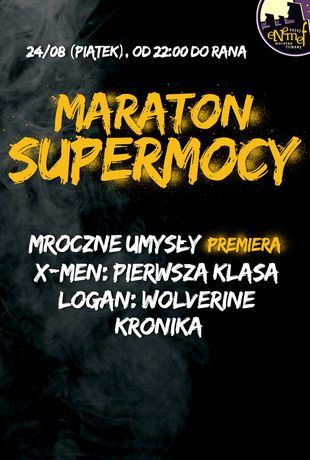 Multikino Kino ENEMEF: MARATON SUPERMOCY