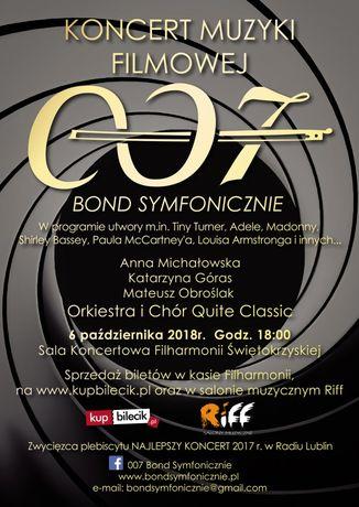 Filharmonia Świętokrzyska Muzyka 007 Bond Symfonicznie