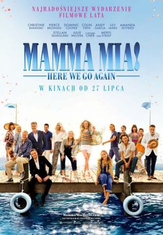 Helios Kino Mamma Mia! Here We Go Again / Kino Kobiet