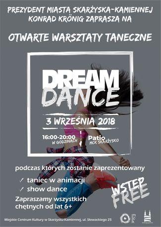 Miejskie Centrum Kultury, Skarżysko-Kamienna Taniec Otwarte warsztaty taneczne DREAM DANCE