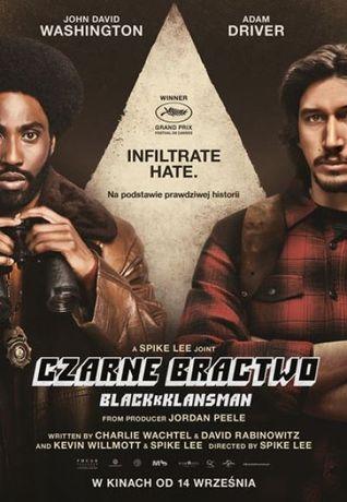 Helios Kino Czarne Bractwo. BlacKkKlansman