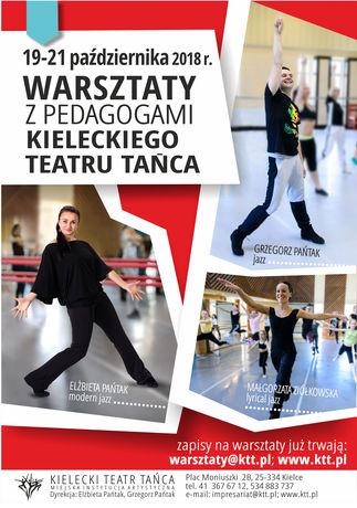 Kielecki Teatr Tańca Taniec Warsztaty z Pedagogami Kieleckiego Teatru Tańca