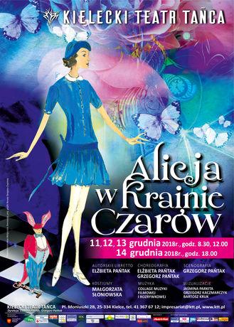 Taniec Alicja w Krainie Czarów