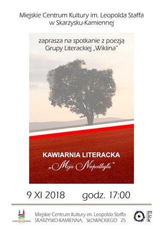 Miejskie Centrum Kultury, Skarżysko-Kamienna Literatura Kawiarnia Literacka / Moja Niepodległa