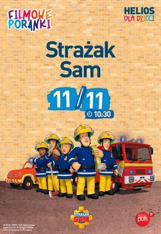 Helios Kino Filmowe Poranki: Strażak Sam cz. 7.