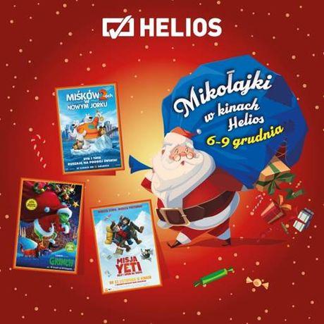 Helios Kino Mikołajki z Heliosem