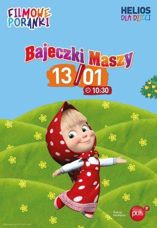 Helios Kino Filmowe Poranki: Bajeczki Maszy, cz. 2.