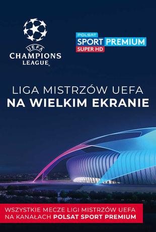 Multikino Kino LIGA MISTRZÓW UEFA - ćwierćfinały - mecz 1