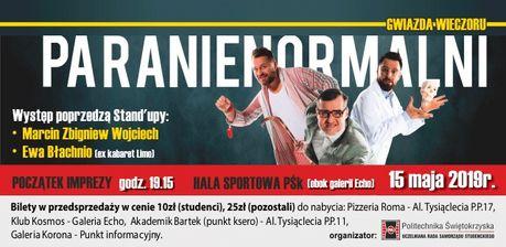zobacz info Kabaret Kabaret Paranienormalni