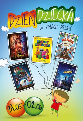 Helios Kino Weekend Dnia Dziecka w kinie Helios!