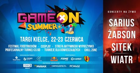 Targi Kielce Targi GameON Summer