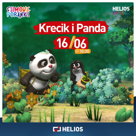 Helios Kino Krecik i Panda,cz. 1 w kieleckim Heliosie 16.06!
