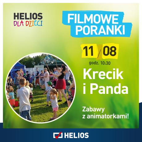 Helios Kino Krecik i Panda,cz. 5 w kieleckim Heliosie 11.08!