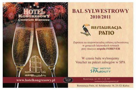 Hotel Kongresowy - Exbud Lokale Bal Sylwestrowy 2010/2011