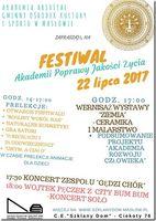 """Festiwal Akademii Jakości Życia """"ARSVITAE""""_Centrum Edukacyjne - Szklany Dom"""