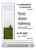 """""""Pejzaż słowem malowany / Kawiarnia Literacka_Miejskie Centrum Kultury, Skarżysko-Kamienna"""