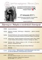 Reformacja w Małopolsce w starodrukach i histografii_Biblioteka Uniwersytecka UJK