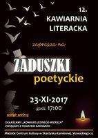 Zaduszki poetyckie - Kawiarnia Literacka_Miejskie Centrum Kultury, Skarżysko-Kamienna