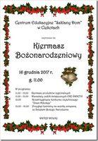 Kiermasz świątoeczny_Centrum Edukacyjne - Szklany Dom