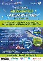 II Wystawa Akwaryści-Akwarystom 24-25 marca 2018_