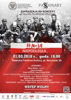 """Koncert """"Moja Niepodległa""""_Kieleckie Centrum Kultury"""