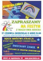 """Festyn z okazji Dnia Dziecka """"Usłyszcie nas!""""_Park Miejski, Kielce"""