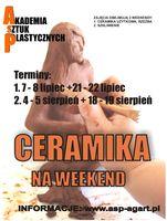 Ceramika na weekend_zobacz info