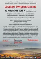 """Widowisko """"Legendy świętokrzyskie""""_Miejskie Centrum Kultury, Skarżysko-Kamienna"""