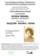 Spotkanie z Marią Mironowicz- Panek_Centrum Edukacyjne - Szklany Dom