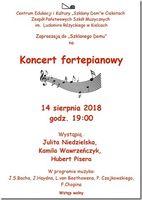 Koncert fortepianowy_Centrum Edukacyjne - Szklany Dom