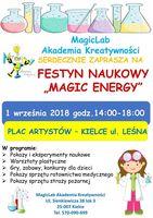 """Festyn """"Magic Energy""""_Plac Artystów, Kielce"""