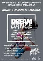 Otwarte warsztaty taneczne DREAM DANCE_Miejskie Centrum Kultury, Skarżysko-Kamienna