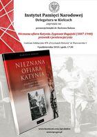 """Promocja książki """"Nieznana ofiara Katynia""""_zobacz info"""