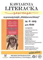 Wielobarwne klimaty - Kawiarnia Literacka_Miejskie Centrum Kultury, Skarżysko-Kamienna
