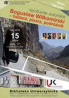Bogusław Wiłkomirski - badacz, pisarz, podróżnik_Biblioteka Uniwersytecka UJK
