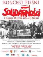 Koncert Pieśni Solidarności z okazji 30-lecia wolnej Polski_Kieleckie Centrum Kultury