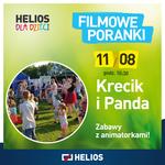 Krecik i Panda,cz. 5 w kieleckim Heliosie 11.08!_Helios